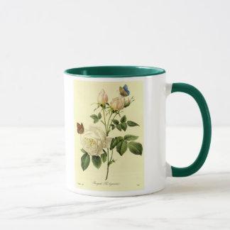 Redoute Print: 'Bengal Rose Hymanee' Mug