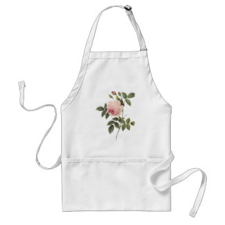 Redoute Rose 2 Adult Apron