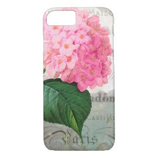 Redoute Shabby Pink Hydrangea iPhone 7 Case