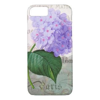 Redoute Shabby Purple Hydrangea iPhone 7 Case