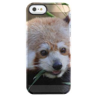 RedPanda20150310 Clear iPhone SE/5/5s Case