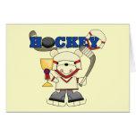 redpolarhockeyone greeting card