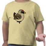 Redpoll canoso camiseta