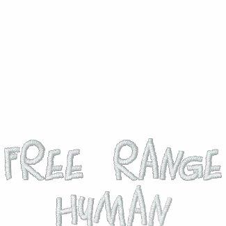 REDREAMING FREE RANGE HUMAN jacket embroideredshirt
