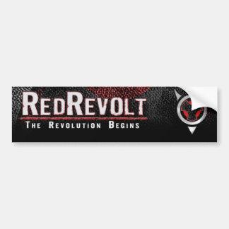 RedRevolt Bumper Sticker Car Bumper Sticker