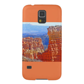 RedRock Tower Samsung Galaxy S5 Case Orange Accent