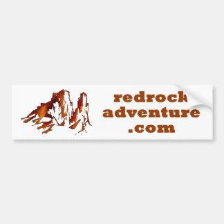 redrockadventure.com bumper sticker