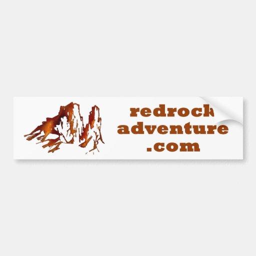 redrockadventure.com bumper sticker car bumper sticker