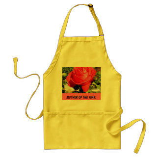 redrose1, MOTHER OF THE YEAR. Adult Apron