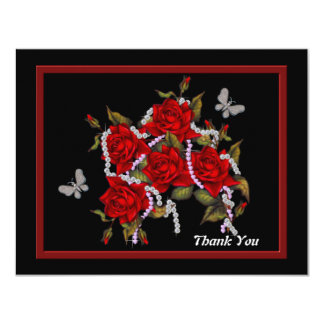 RedRose, Thank You Card