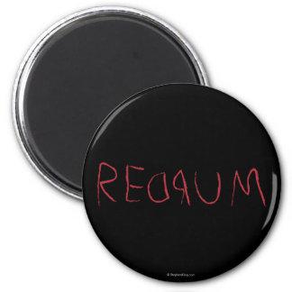Redrum 2 Inch Round Magnet