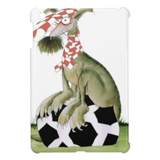 reds soccer dog happy supporter case for the iPad mini
