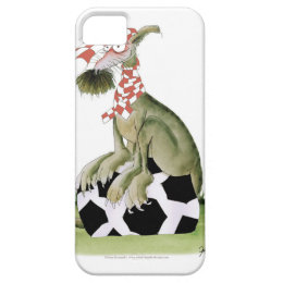 reds soccer dog happy supporter iPhone SE/5/5s case