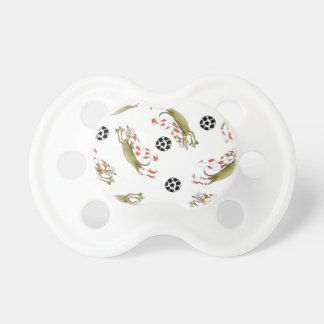reds soccer dogs pacifier