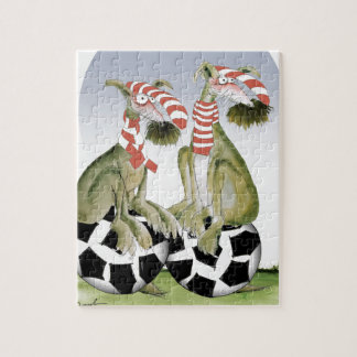 reds soccer dogs when saturday comes jigsaw puzzle