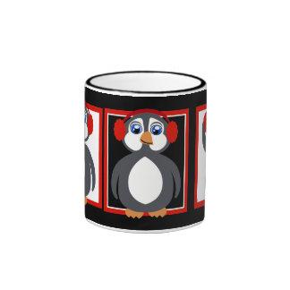 Reds Toon Penguin Mug
