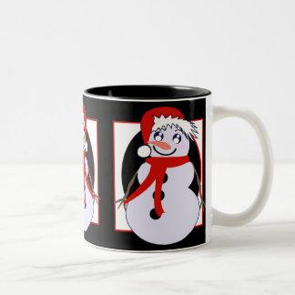 Reds Toon Snowman Mug