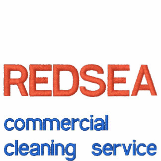 REDSEA, commercial cleaning service Embroidered Polo Shirt
