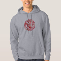 Redskin Red Indian Hoodie