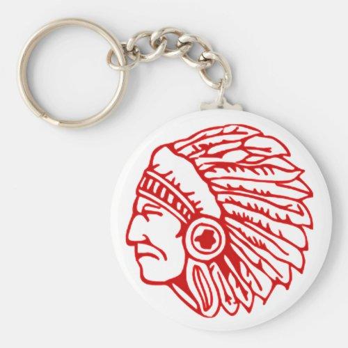 Redskin Red Indian Keychain