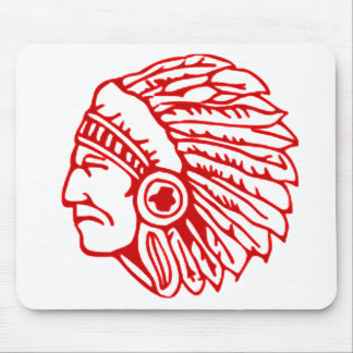 Redskin Red Indian Mouse Pad