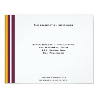 Redskins Football Sports Bar MitzvahReception Custom Announcement