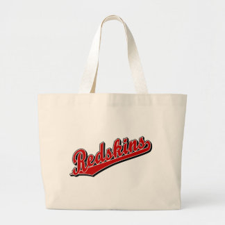 Redskins in Red Canvas Bag