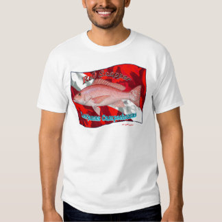 RedSnapper on Dive Flag Shirts