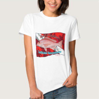 RedSnapper on Dive Flag Tees