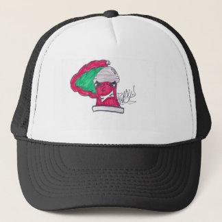 redsprayzasp trucker hat