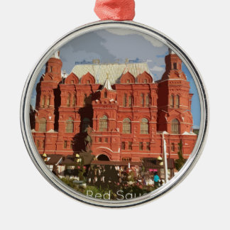 redsquare metal ornament