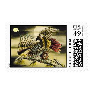 Redtail Hawk Postage