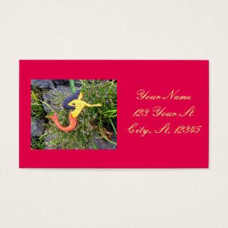redtail sirena mermaid business card