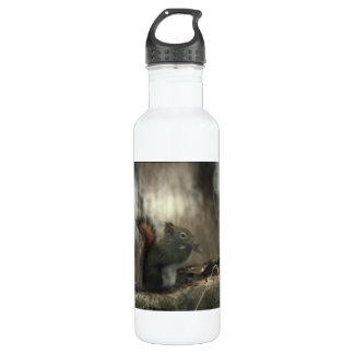 Redtail Squirrel 01 Stainless Steel Water Bottle