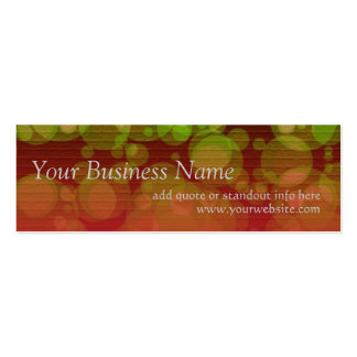 Redtown v2 Profile Card Business Cards