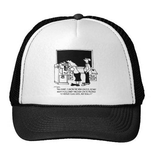 Reducción de tamaño de la clase gorras