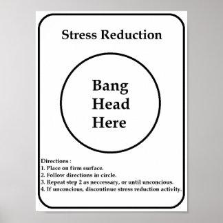 Reducción del estrés póster