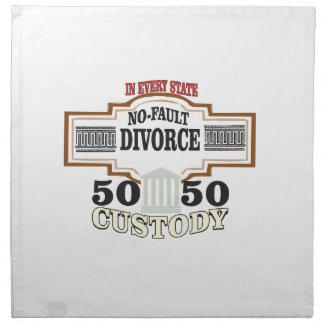 reduce divorces automatic 50 50 custody cloth napkin