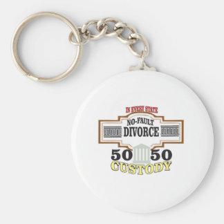 reduce divorces automatic 50 50 custody keychain