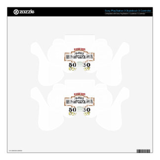 reduce divorces automatic 50 50 custody PS3 controller skin