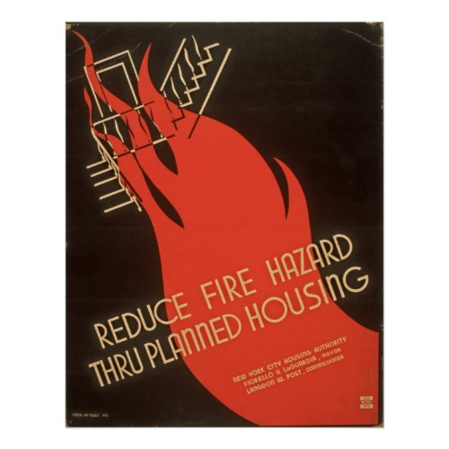 Reduce Fire Hazard Thru Planned Housing WPA