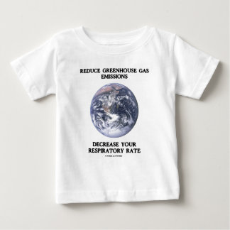 Reduce Greenhouse Gas Emissions (Humor) Baby T-Shirt