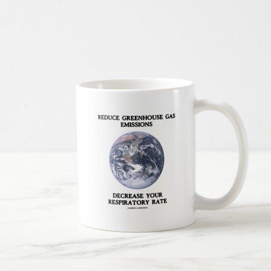 Reduce Greenhouse Gas Emissions (Humor) Coffee Mug