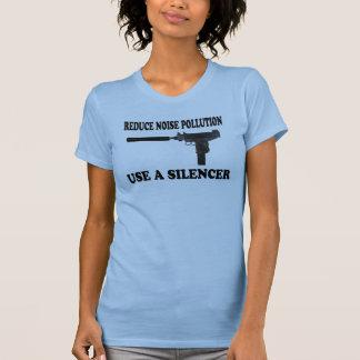 Reduce Noise Pollution - Use A Silencer Tee Shirt