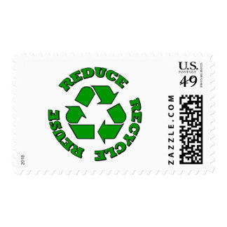 Reduce Recycle Reuse Postage