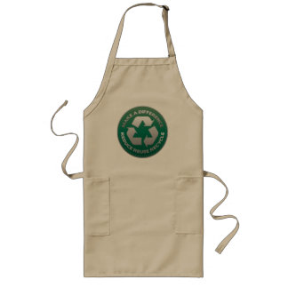 Reduce Reuse and Recycle Stitch Apron