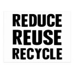 Reduce Reuse Postcard