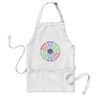 Reduce, Reuse, Recycle Adult Apron