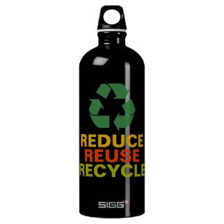 Reduce Reuse Recycle Aluminum Bottle SIGG Traveler 1.0L Water Bottle