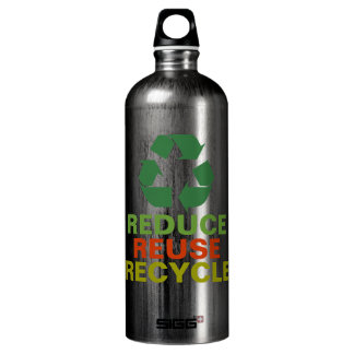 Reduce Reuse Recycle Aluminum SIGG Traveler 1.0L Water Bottle